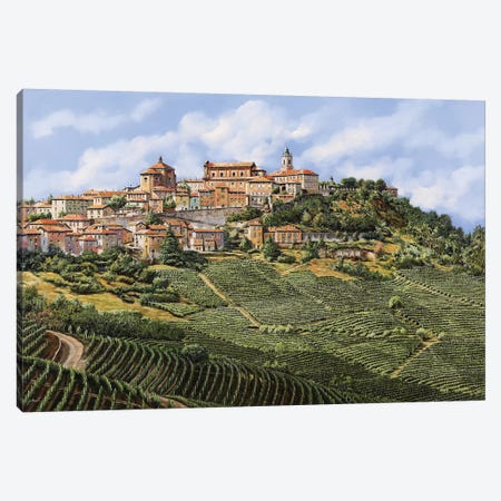La Morra Canvas Print #GUB110} by Guido Borelli Canvas Artwork