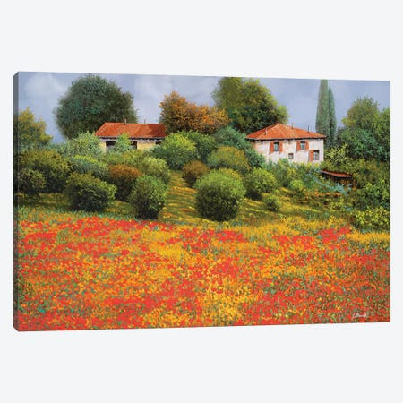 La Nuova Estate Canvas Print #GUB112} by Guido Borelli Canvas Wall Art