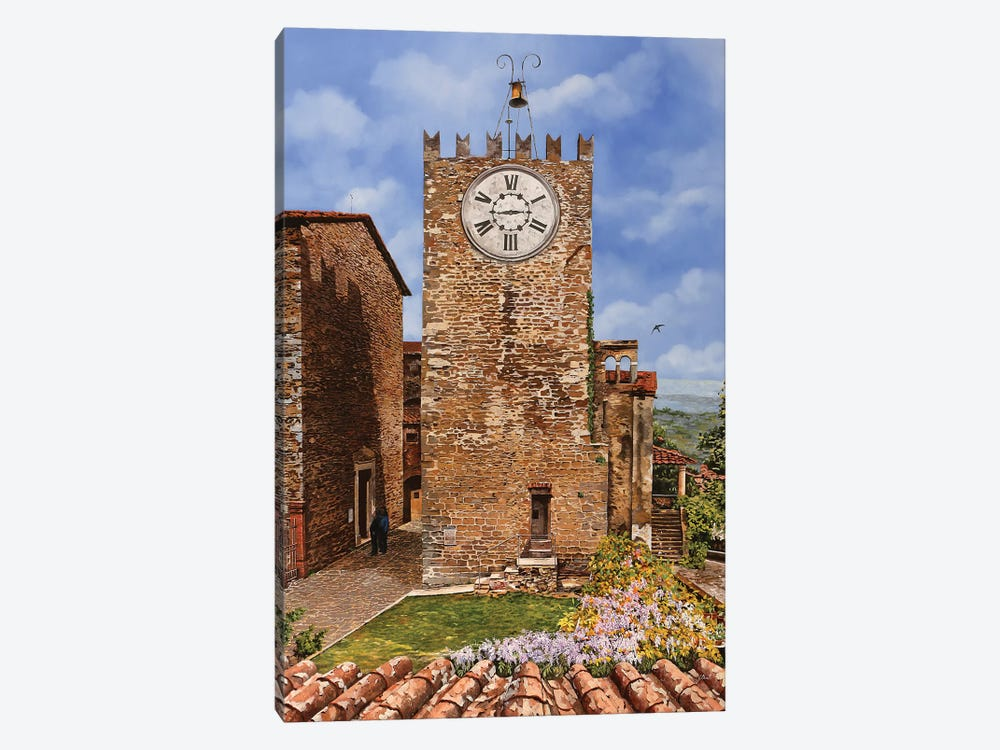 La Torre I by Guido Borelli 1-piece Canvas Art