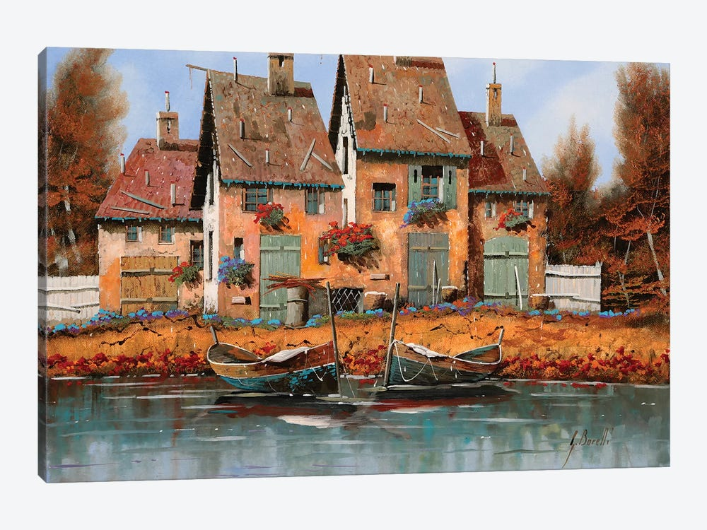 Le Belle Barche by Guido Borelli 1-piece Art Print