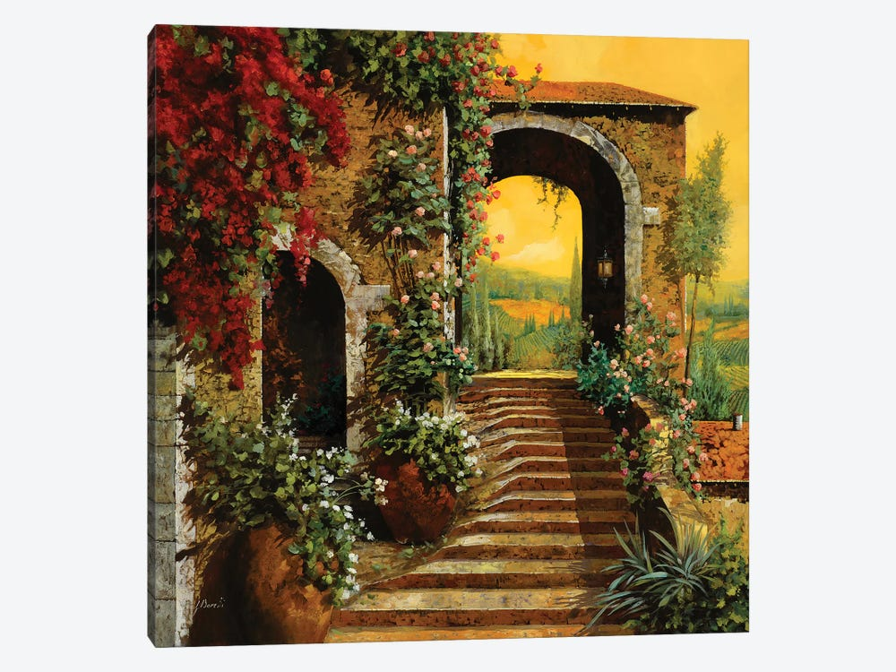 Le Scale by Guido Borelli 1-piece Canvas Print