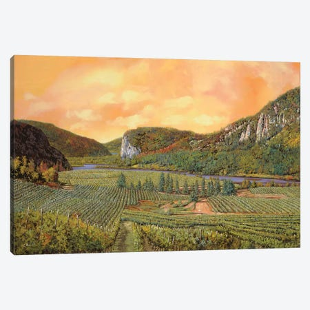 Le Vigne Del 2010 Canvas Print #GUB131} by Guido Borelli Canvas Wall Art