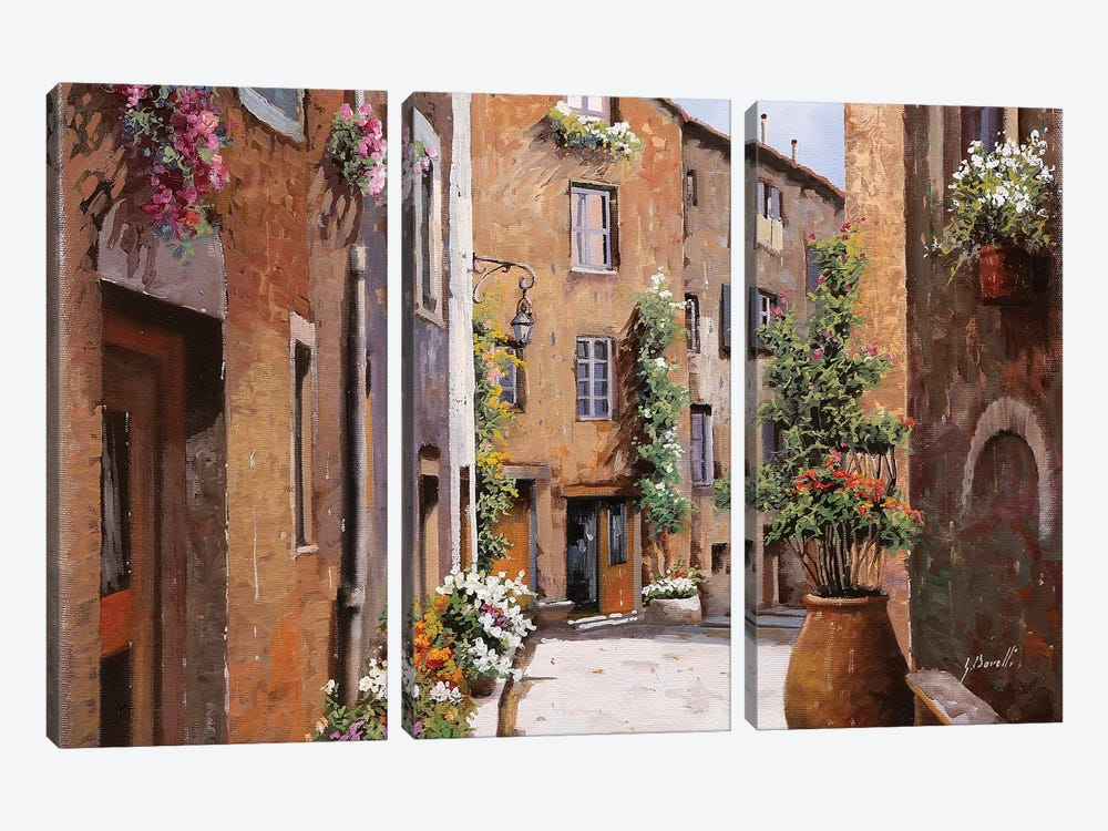 Les Tourrettes by Guido Borelli 3-piece Canvas Art