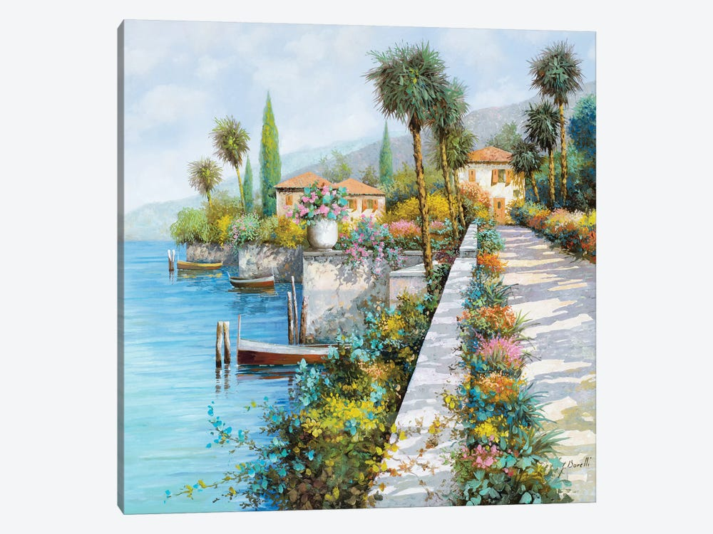Lungo Lago by Guido Borelli 1-piece Art Print