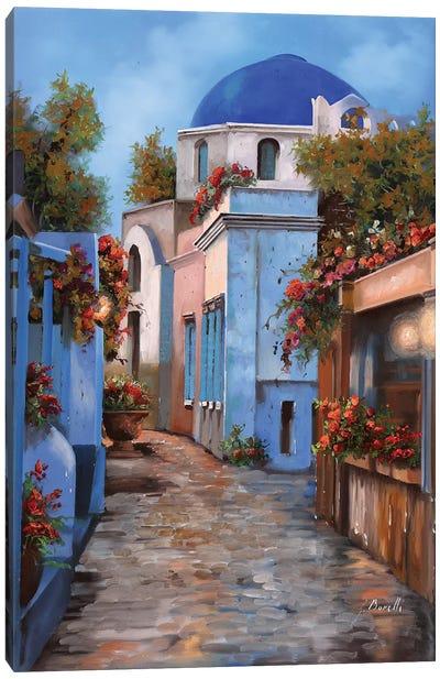 Mattino In Grecia Canvas Art Print