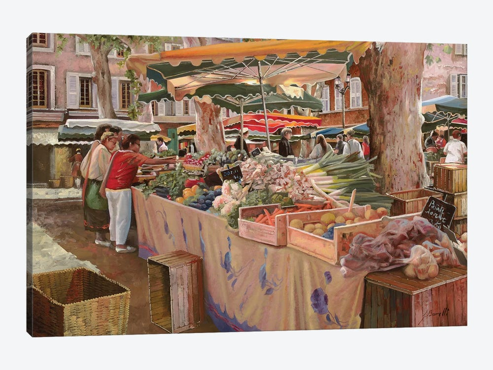 Mercato Provenzale by Guido Borelli 1-piece Art Print