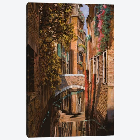 Autunno Veneziano Canvas Print #GUB15} by Guido Borelli Canvas Art