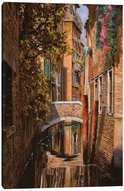 Autunno Veneziano Canvas Art Print