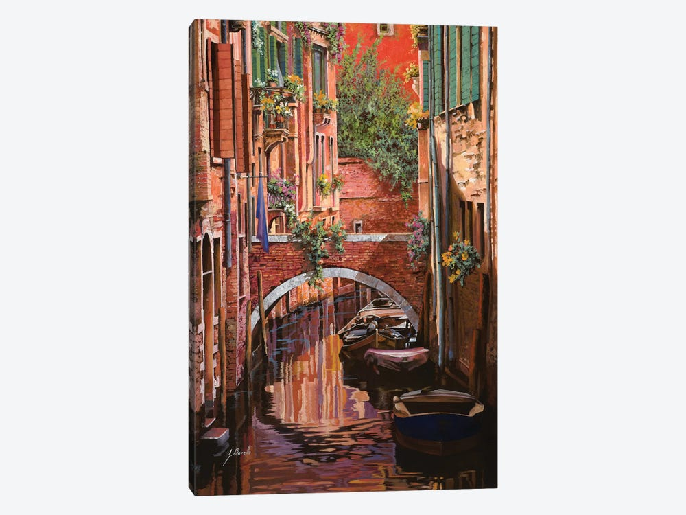 Rosso Veneziano by Guido Borelli 1-piece Canvas Wall Art