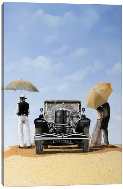 Baci Nel Deserto Canvas Art Print