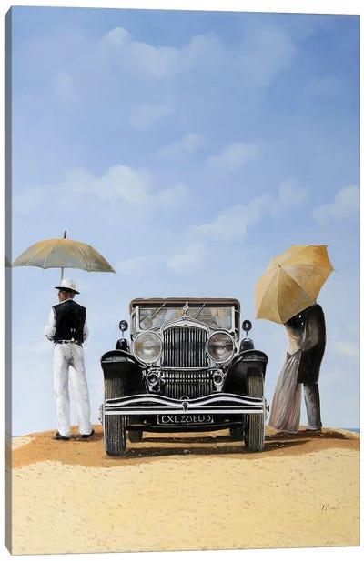 Baci Nel Deserto Canvas Art Print