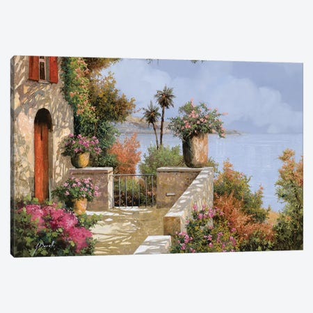 Silenzio Canvas Print #GUB191} by Guido Borelli Canvas Art