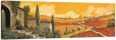 Terra Di Siena Canvas Art Print