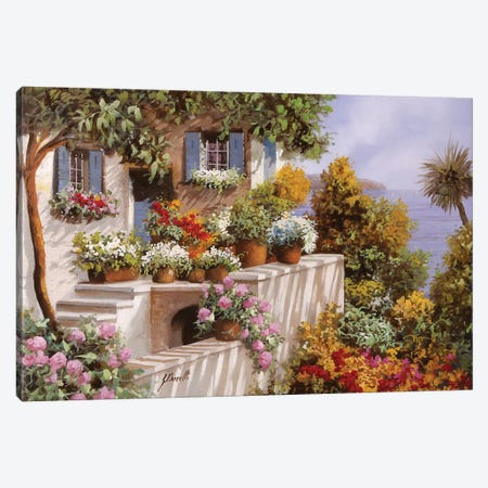 Terrazza Intricata Canvas Print #GUB196} by Guido Borelli Art Print