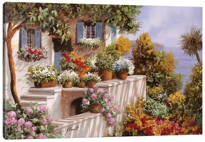 Terrazza Intricata Canvas Art Print