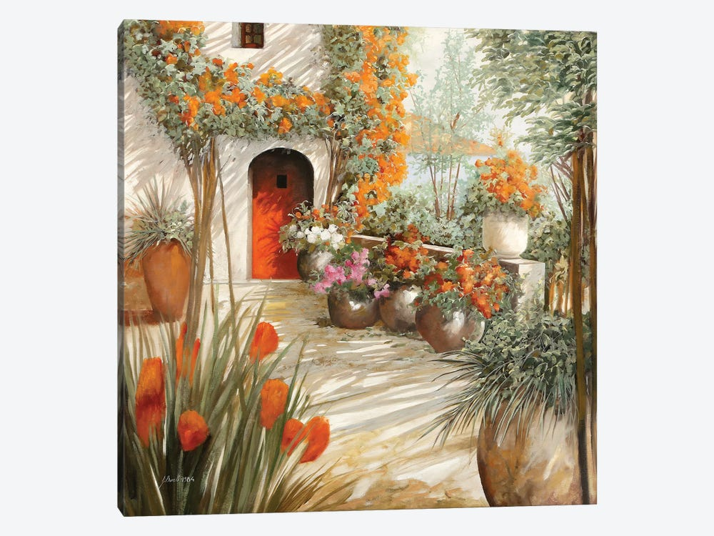 Terrazza Leggera by Guido Borelli 1-piece Canvas Wall Art