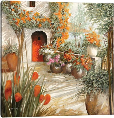 Terrazza Leggera Canvas Art Print