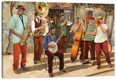 Un Po' Di Jazz Canvas Art Print