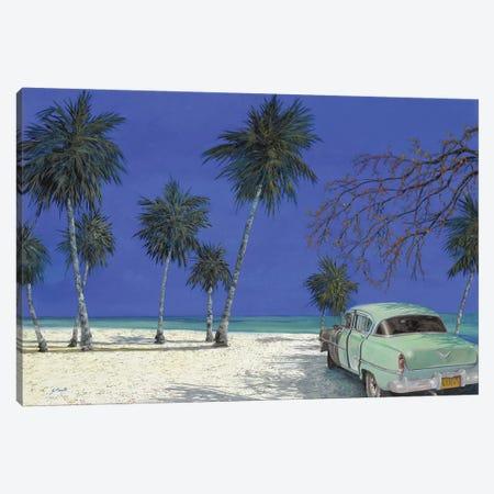 Una Macchina A Cuba Canvas Print #GUB207} by Guido Borelli Canvas Art Print