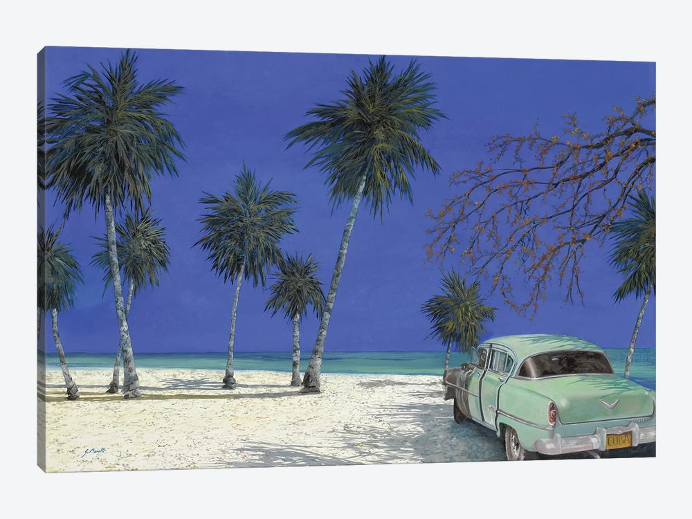 Una Macchina A Cuba by Guido Borelli 1-piece Art Print