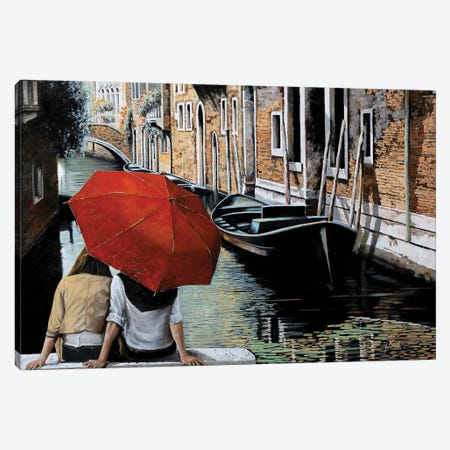 Uno Sguardo Al Canale Canvas Print #GUB211} by Guido Borelli Art Print