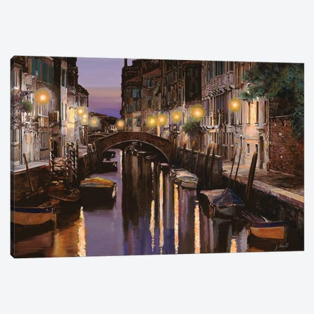Venezia Al Crepuscolo Canvas Print #GUB216} by Guido Borelli Canvas Artwork