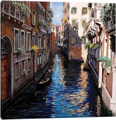 Venezia Blu Canvas Art Print