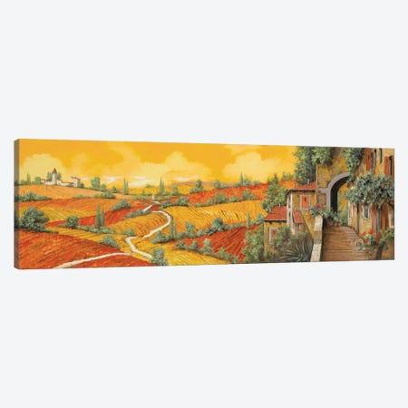 Bassa Toscana Canvas Print #GUB23} by Guido Borelli Canvas Art