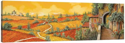Bassa Toscana Canvas Art Print