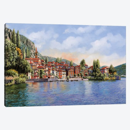 Bellagio A Colori Canvas Print #GUB24} by Guido Borelli Canvas Print