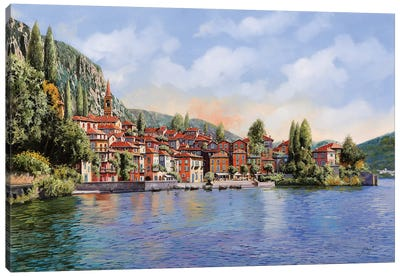 Bellagio A Colori Canvas Art Print