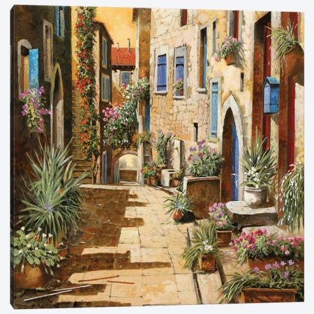 Bell'Interno Canvas Print #GUB25} by Guido Borelli Art Print