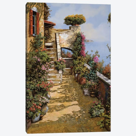 Bello Terrazzo Canvas Print #GUB26} by Guido Borelli Art Print