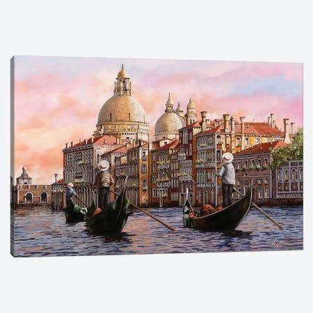 A Gondolando Di Nuovo Canvas Print #GUB2} by Guido Borelli Art Print