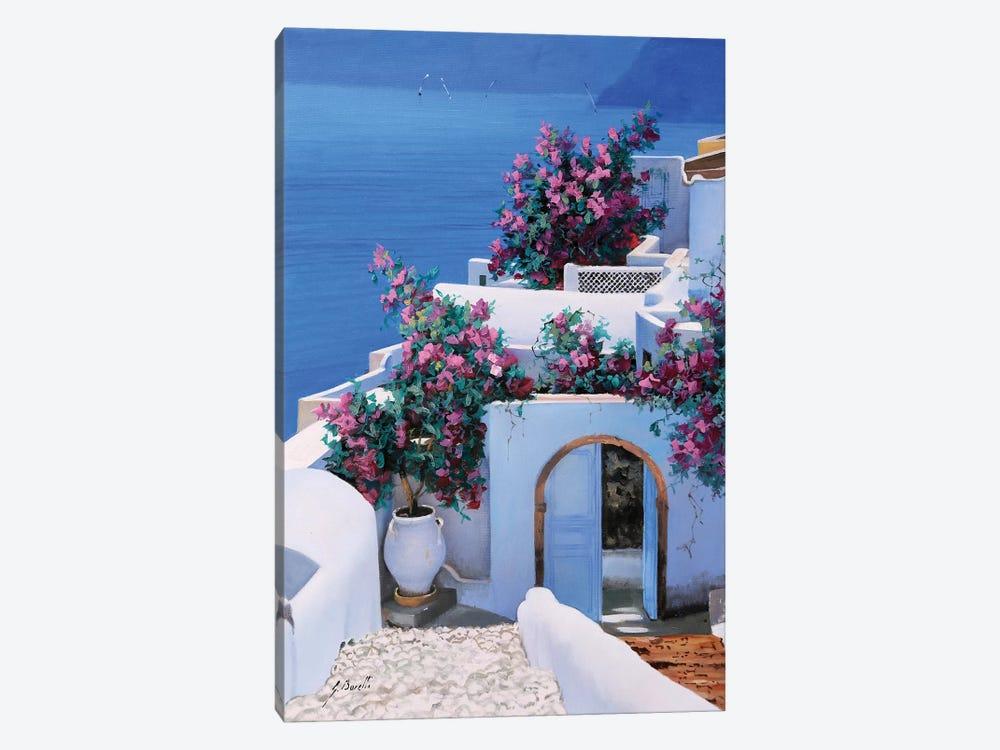 Blu Di Grecia by Guido Borelli 1-piece Canvas Wall Art