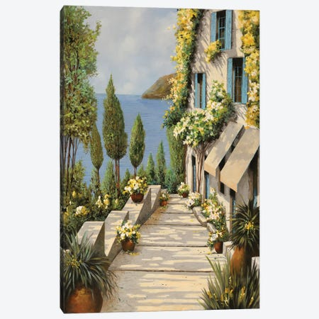 Canarinotre Canvas Print #GUB38} by Guido Borelli Canvas Print
