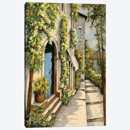 Canarinouno Canvas Print #GUB39} by Guido Borelli Canvas Art Print