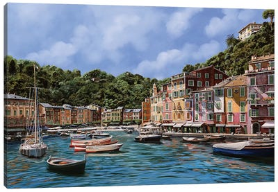 A Portofino Canvas Art Print