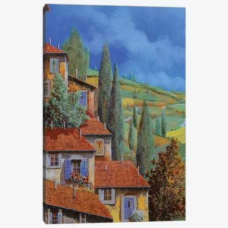 Case Appoggiate Canvas Print #GUB46} by Guido Borelli Art Print