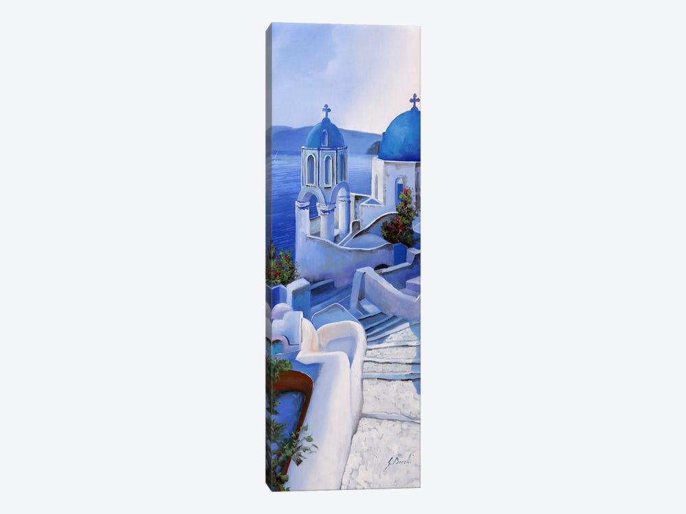 Chiese Blu by Guido Borelli 1-piece Canvas Art Print