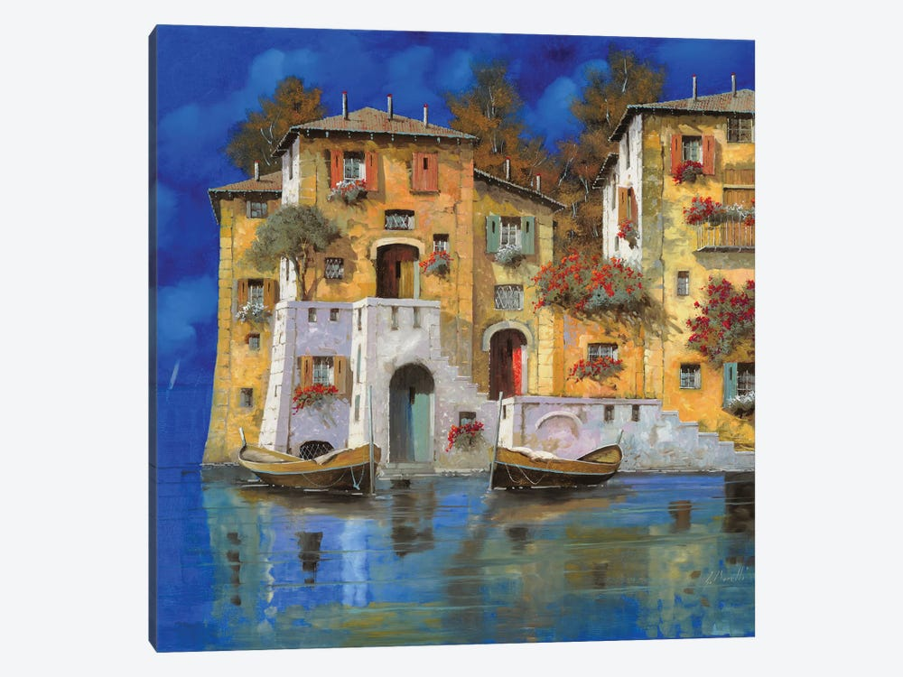 Cieloblu by Guido Borelli 1-piece Canvas Artwork