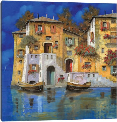 Cieloblu Canvas Art Print