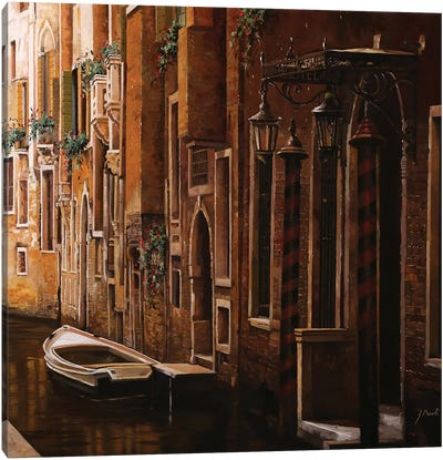 Crema Veneziana Canvas Art Print