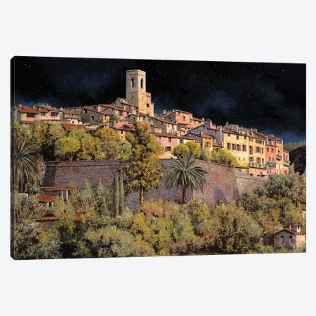 Di Notte A St Paul Canvas Print #GUB59} by Guido Borelli Art Print