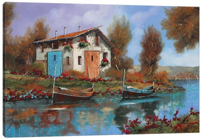 Acqua Canvas Art Print