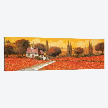 Fuoco Di Toscana Canvas Print #GUB66} by Guido Borelli Art Print