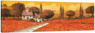 Fuoco Di Toscana Canvas Art Print