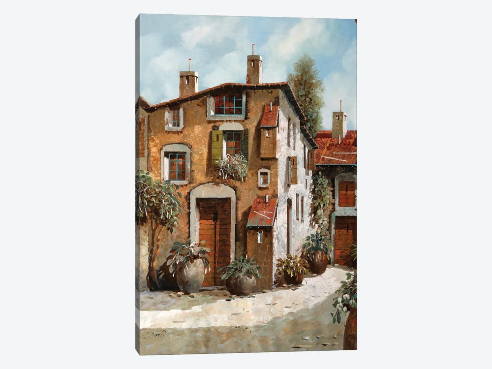 Grigi E Luce by Guido Borelli 1-piece Canvas Art Print