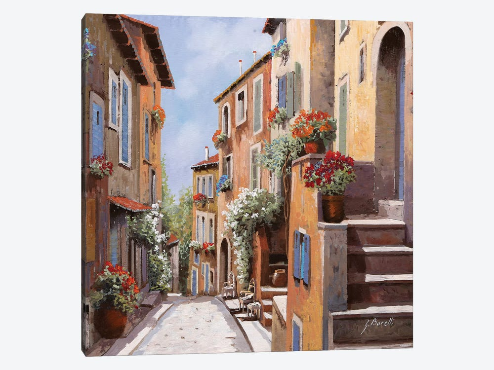 Haut De Cagnes by Guido Borelli 1-piece Art Print