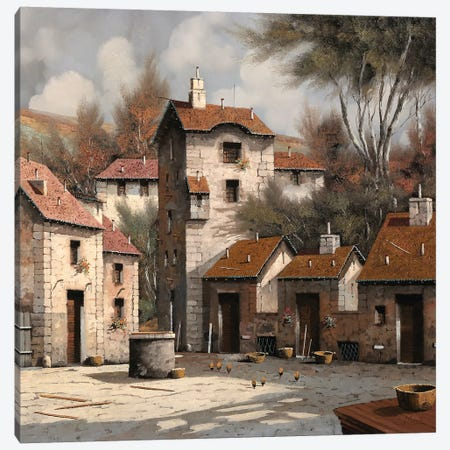 Aia Bianca Canvas Print #GUB7} by Guido Borelli Canvas Wall Art